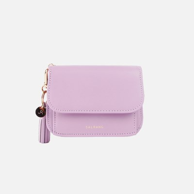 [미니태슬증정]Dijon N301R Round Card Wallet lilac blossom