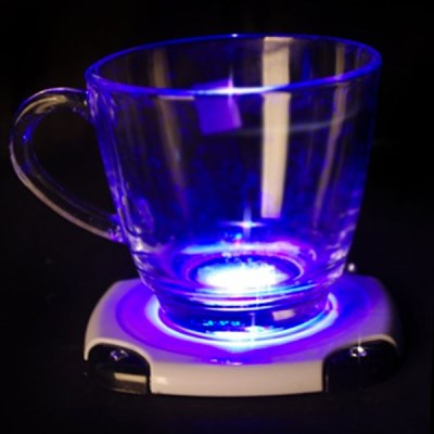 LED 발광 컵받침 (화이트)_(301526611)
