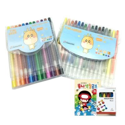 고은빛 티니베베 색연필 12색 16색