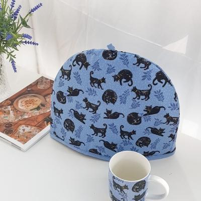 [울스터위버스] 블랙 고양이(Cat nap) 덮개 티코지
