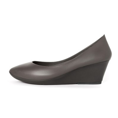 [W6] Wedge Heel6 - Pointed Ash Gray (W6-P-AG-)