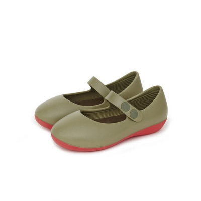 [Mk] Mary Jane for kids Olive Green (M-K-Olive.Green-)
