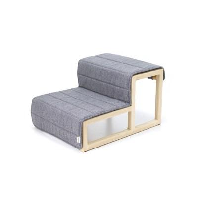 [반달펫] 사뿐 애견스텝(gray)