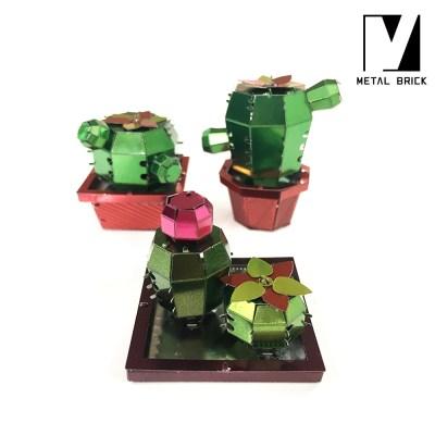 3D 이노 메탈 퍼즐 모형 다육이 VOL.01