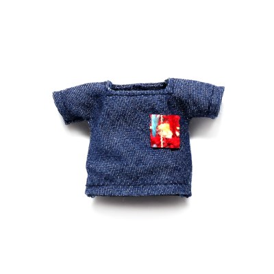 요마네 1012바디용의상 패치포인트 청티셔츠