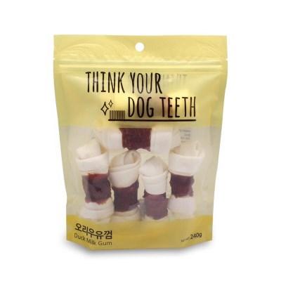 [Think your dog teeth] 오리딩고껌 6P (240g)