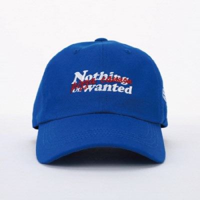 NOTHING UNWANTED LOGO BALLCAP_BLUE