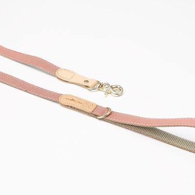 [반달펫]반려동물 산책줄 리드줄(핑크)