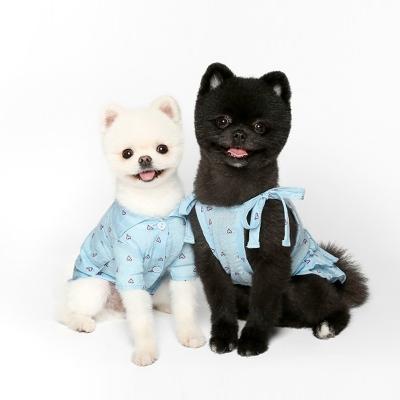 LOVE 스카이 셔츠/드레스
