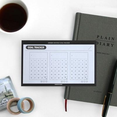 아이코닉 스티키패드 - 한달목표