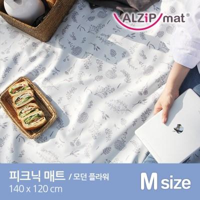 [알집] 피크닉 매트 M 모던 플라워 / 양면방수_(969067)