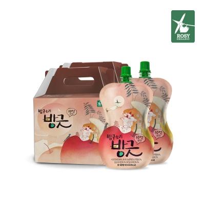 로지오가닉 방구소리방긋 10억 유산균 음료 2BOX(30팩)