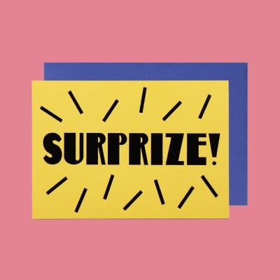 MESSAGE CARD_SURPRIZE