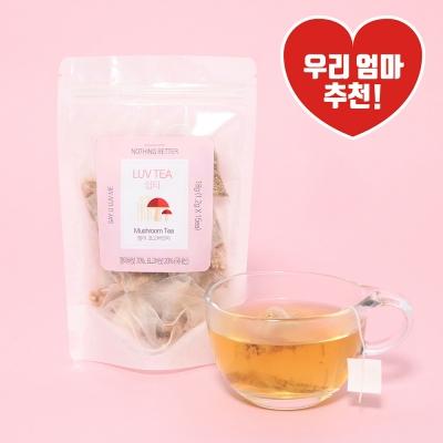 [럽티] 팽이·표고버섯차 티백 (15입)