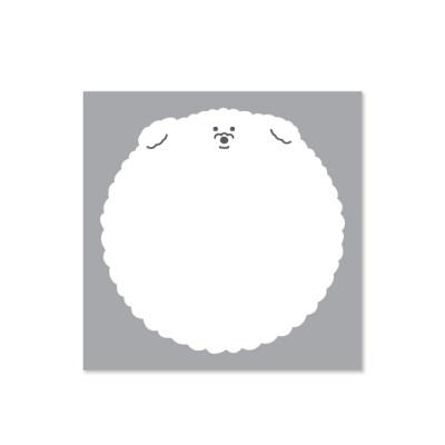 [김몰링] 풍선 떡메모지_(1804188)
