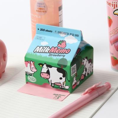 Hello Cow Milk Memo(Strawberry)