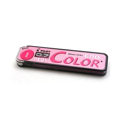 파일롯 컬러 에노 샤프심 0.7mm-핑크