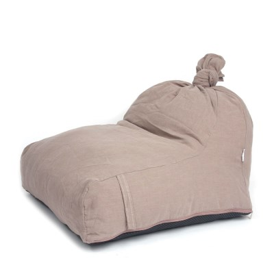 [blackmayonnaise] The Beanbag Cushion_Linen Brown
