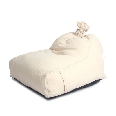 [blackmayonnaise] The Beanbag Cushion_Linen Beige
