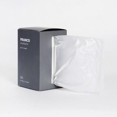 프랑코 분리수거 비닐봉투 20L/50매_(696329)