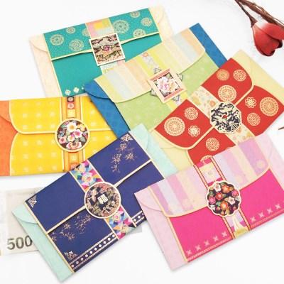 전통문양 큐빅 돈봉투