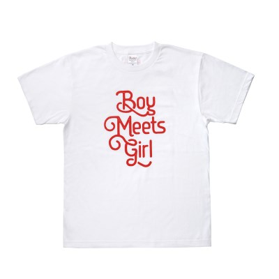 Boy Meets Girl T-shirt white