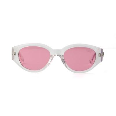 D.fox Original Glossy Clear / Pink Tint Lens