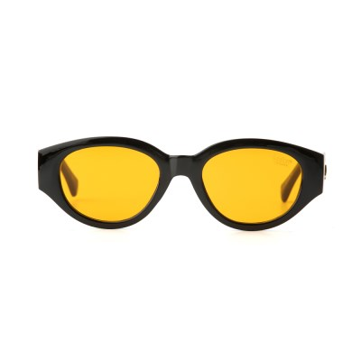 D.fox Original Glossy Black / Orange Tint Lens