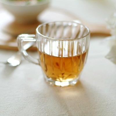 띠앙 유리 머그컵