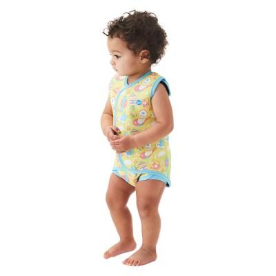 체온보호 래퍼 아기수영복(가든버드)
