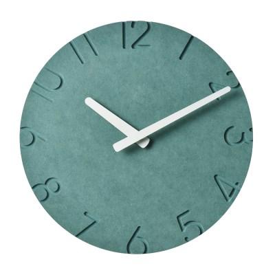 저소음 COLOR BOARD 컬러보드벽시계(넘버그린)