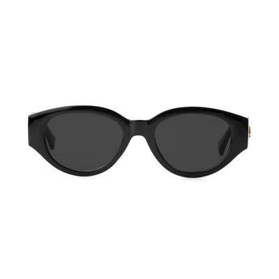 D.fox Original Glossy Black / Black Lens