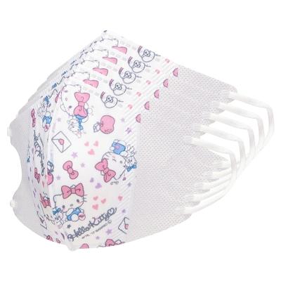헬로키티 어린이용 입체 마스크 10P (4개 묶음상품)