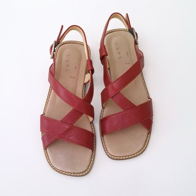 Strap Sandal _ Spicy Red
