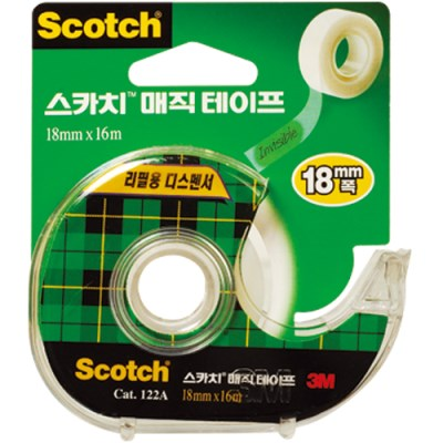 스카치 매직테이프(122A/18mmX16M/3M)_(13313257)