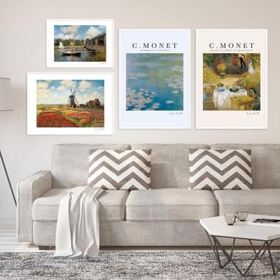 클로드 모네 인테리어 그림 액자 포스터