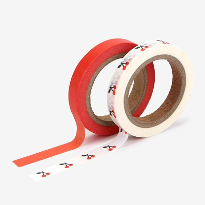 Masking tape slim 2p - 05 Cherry