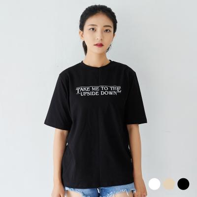 부루앤쥬디 업사이드다운 티셔츠 WGKD5TG003_(650562)