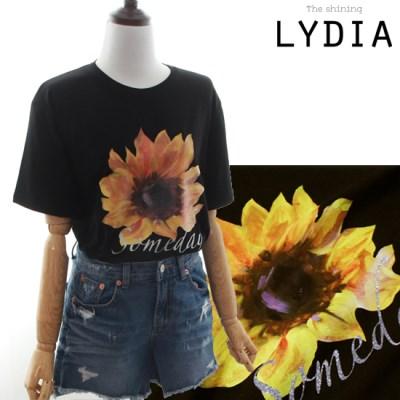 LYDIA SUNFLOWER T-Shirts