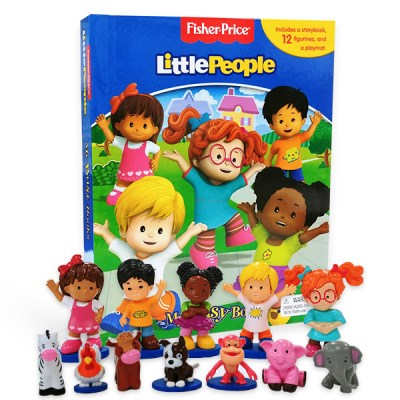 Fisher Price Little People : My Busy Book 피규어북