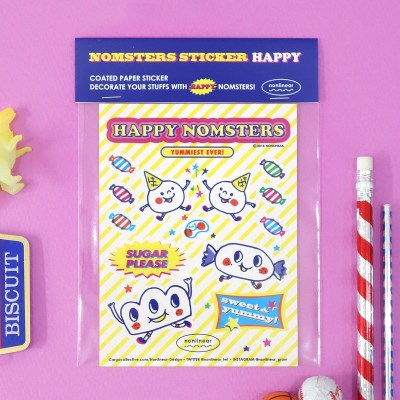 Nomsters Sticker_Happy