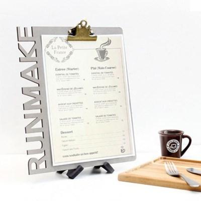 (무료 조각) 럭셔리 클립보드 모음-A4 메뉴판 화일철