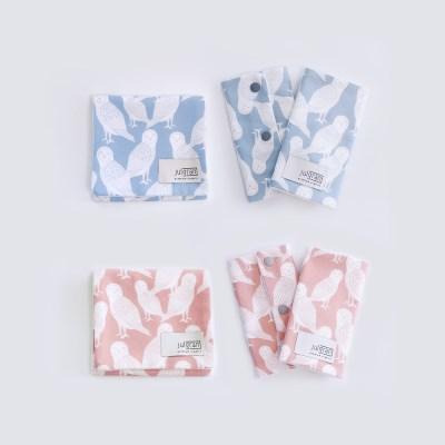 [율그란] 오가닉 아기띠침받이+버피트림타올 SET