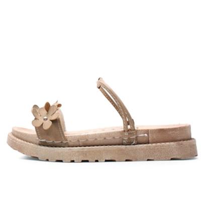 kami et muse Flower strap comfort slippers_KM18s324