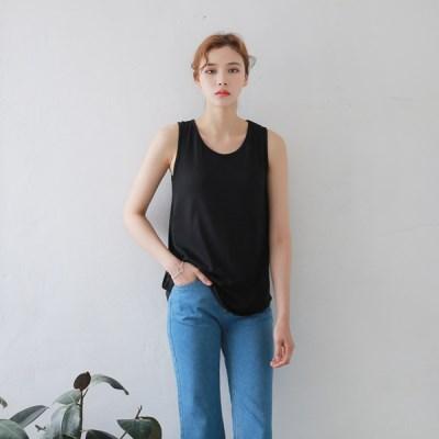 [MONDAY STUDIO] Daily color sleeveless