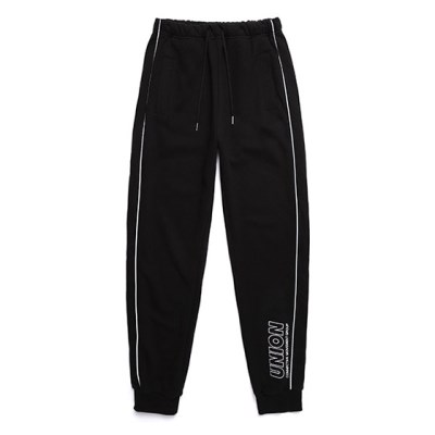 UNION SIGNATURE TRAINING PANTS_BLACK_(989890)