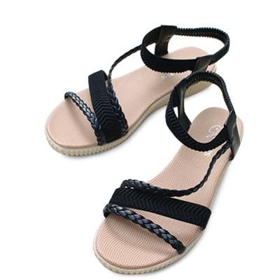 kami et muse Elastic band comfort sandals_KM18s336