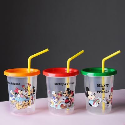 미키마우스 피크닉 스트로 텀블러 빨대컵 3P세트