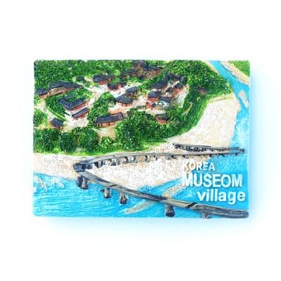 한국여행자석 - 외나무다리 건너 무섬마을