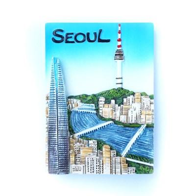 한국여행자석 - 한강변